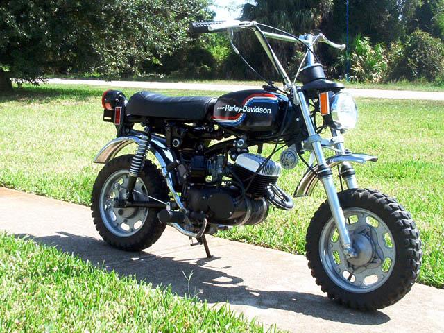 Harley Davidson Mini Bikes Amf